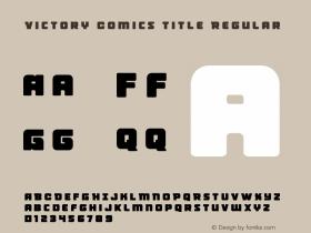 Victory Comics Title