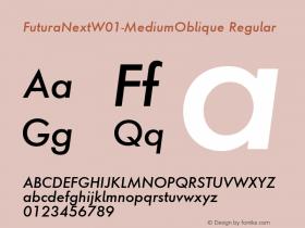 FuturaNext-MediumOblique
