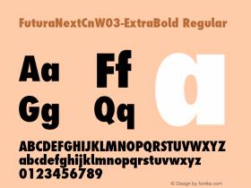 FuturaNextCn-ExtraBold