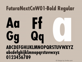 FuturaNextCn-Bold