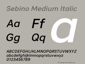 Sebino Medium