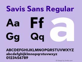 Savis Sans