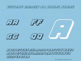 Victory Comics 3D Italic