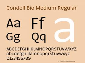Condell Bio Medium