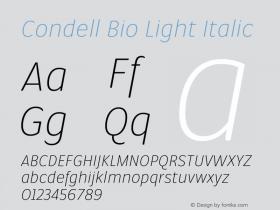Condell Bio Light