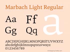 Marbach Light