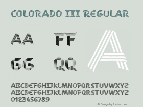 COLORADO III