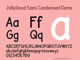 JollyGood Sans Condensed