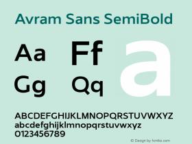 Avram Sans