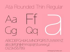 Ata Rounded Thin