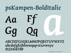 psKampen-BoldItalic