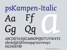 psKampen-Italic