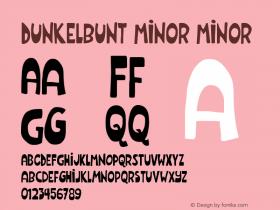 Dunkelbunt Minor