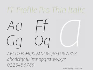 FF Profile Pro Thin
