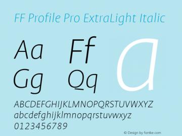 FF Profile Pro ExtraLight