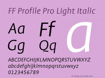 FF Profile Pro Light