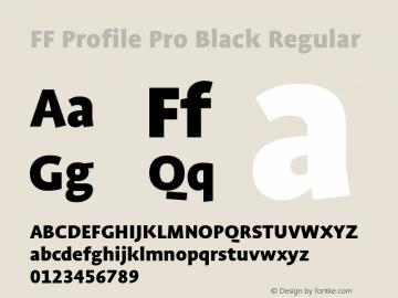 FF Profile Pro Black