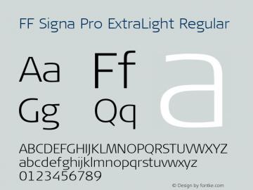 FF Signa Pro ExtraLight