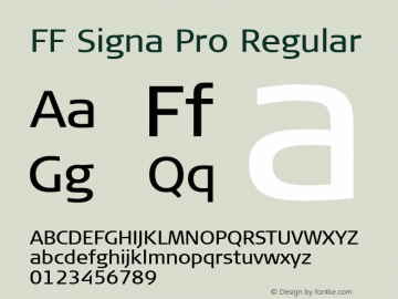 FF Signa Pro
