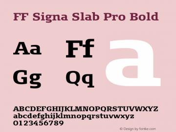 FF Signa Slab Pro