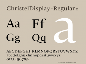 ChristelDisplay-Regular