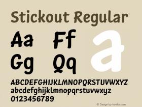 Stickout