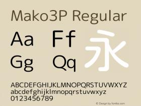Mako3P