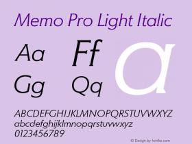 Memo Pro Light