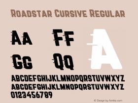 Roadstar Cursive