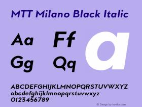 MTT Milano Black