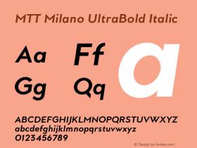 MTT Milano UltraBold