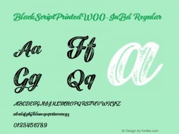 BlackScriptPrinted-InBd