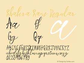 Shafira Sans