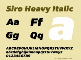 Siro Heavy