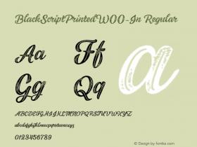 BlackScriptPrinted-In