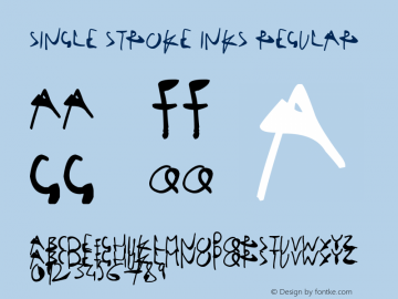 Single Stroke Inks