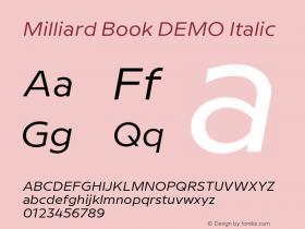 Milliard Book