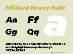 Milliard Heavy