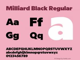 Milliard Black
