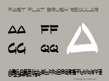 Fast Flat Brush