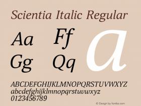 Scientia Italic