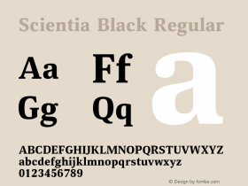 Scientia Black