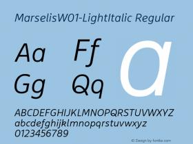 Marselis-LightItalic