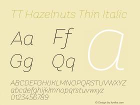TT Hazelnuts