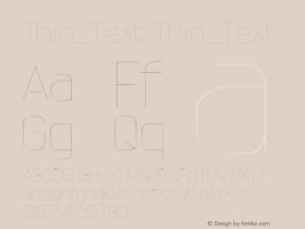 Thin_Text