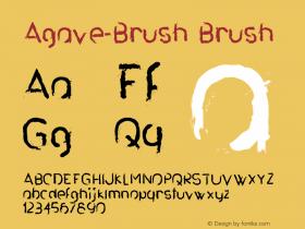Agave-Brush