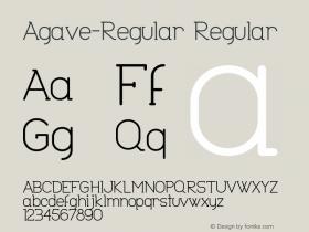 Agave-Regular