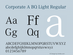 Corporate A BQ Light
