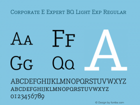 Corporate E Expert BQ Light Exp