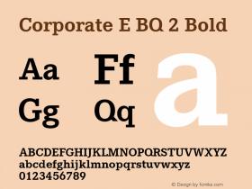 Corporate E BQ 2